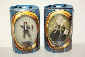 THE LORD OF THE RINGS Prologue Bilbo and Talking SMEAGOL TOY Figure