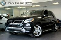 2014 Mercedes-Benz M-Class ML350 4MATIC, Ensemble Sport, Toit Pa