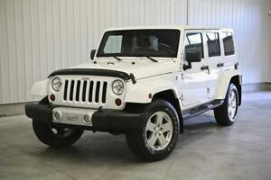 Jeep Wrangler Unlimited Sahara 2011 + DIFFERENTIEL ARRIERE AUTOB