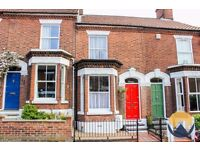 Whole house - 2 bed Victorian terrace for rent in the Golden Triangle, Norwich