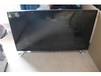 faulty 40 inch sharp slim tv