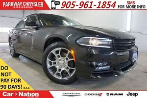2016 Dodge Charger SXT| AWD| SUNROOF| ALPINE SOUNDS| REMOTE STAR