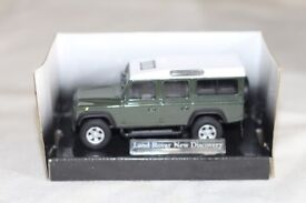 cararama land rover new discovery model 1:43 new
