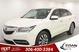 2015 Acura MDX SH Technology|AWD|Nav|Heated Leather