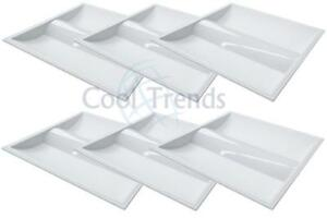 6 packages of Led Troffer, 35W, 5000K, 2x2 (603x603x76mm), AC100-277V