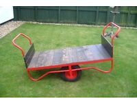 2 wheel barrow cart truck in great condition