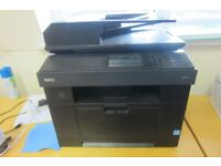DELL 2355DN MONO LASER ALL IN ONE PRINTER,SCANNER,FAX & COPY MACHINE WITH BRAND NEW SPARE CARTRIDGE
