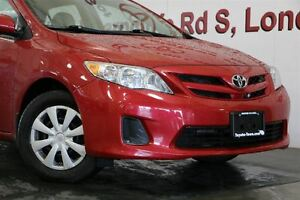 2011 Toyota Corolla SINGLE OWNER LOW MILEAGE CE London Ontario image 9