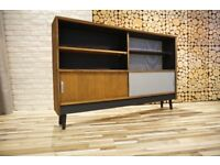 RETRO 1969's SIDEBOARD, DRAWERS, VINTAGE,RETRO,solid wood (free delivery