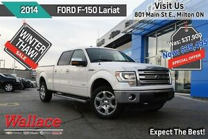 2014 Ford F-150 Lariat CREW CAB/TOW PACK/MOONROOF/NAV/REMOTE STA