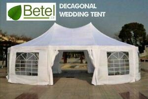 Sale | 30x20 22x16 Decagonal Octagonal Wedding Party Marquee High Peak Tent | From $549