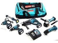 Makita 18v set dlx6021m brand new !!!