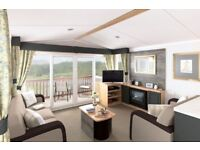 Static caravans and lodges for sale, Northampton - 2 and 3 bed - double glazed and heated..