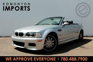 2002 BMW M3 CONVERTIBLE |  ONLY 70 KMS | WE APPROVE EVERYONE