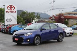2014 Toyota Corolla S FWD 1.8L HEATED LEATHER Navigation