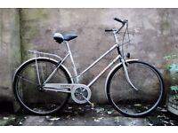 RALEIGH COLETTE, 20 inch, vintage ladies women's dutch style traditional road bike, 3 speed
