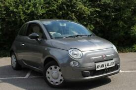 Fiat 500 Pop 3dr **30 TAX+CAM BELT INCLUDED** (grey) 2010