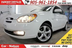 2011 Hyundai Accent SPORT| SUNROOF| ALLOY WHEELS| 5-SPD MT |