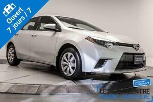 2016 Toyota Corolla LE, CAMERA DE RECUL, BANCS CHAUFFANTS