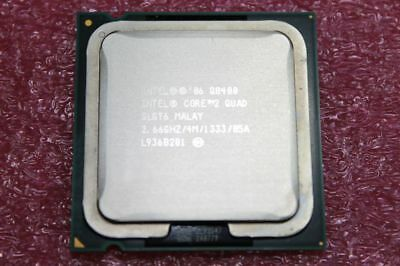 Lot of 2 Intel Core 2 Quad Q8400 2.66GHz Quad-Core (AT80580PJ0674ML) SLGT6