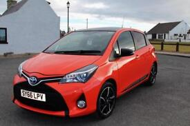 Toyota Yaris Hybrid orange edition CVT