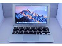 APPLE MACBOOK AIR 2015 WARRANTY INTEL CORE I5 1.6GHZ 4GB RAM 256GB FLASH DRIVE WIFI WEBCAM OS X