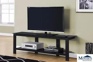 "Brand NEW Black Metal 60"" TV Console! Call 709-634-1001!"