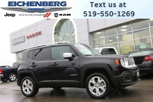 2017 Jeep Renegade Limited 4X4 *HEATED SEATS*