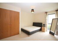 2 bedroom with open plan Kitchen in quiet secure location. Good transport links