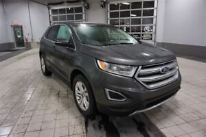 2015 Ford Edge SEL AWD, 3.5L V6 Toit pano, GPS, Hitch, 18'', Écr