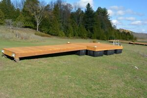 8 x 16 cedar floating dock with a 4 x 16 ramp and 9 dock floats Kingston Kingston Area image 6