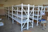 SHELVING FOR WAREHOUSE, GARAGE OR OFFICE  (Free Delivery)