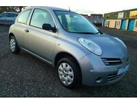NISSAN MICRA 1.2 Initia 3dr Very Low Miles +1 Yrs Mot&Serviced & Warranty (silver) 2007