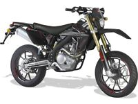 *MOTORCYCLE* 66 Plate MRT 200LC Pro Trial or SM. Warranty. Free Delivery. Main Dealer 22-11