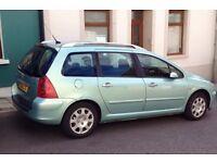 For sales Peugeot 307sw estate £450 Ono mot till december