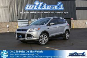 2014 Ford Escape TITANIUM SUV! LEATHER! NAVIGATION! HEATED SEATS