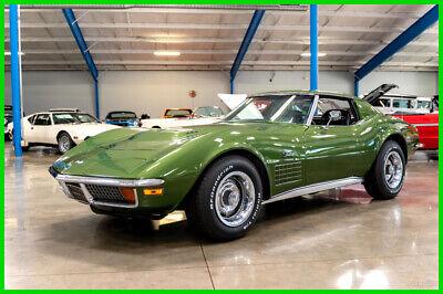 1972 Green Chevrolet Corvette   | C3 Corvette Photo 1