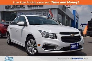 2016 Chevrolet Cruze LT|Turbo Four Cylinder|Rear Camera!