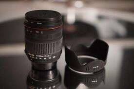 Excellent lense with zoom Sigma for Nikon 18-200mm