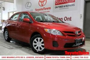 2013 Toyota Corolla SINGLE OWNER CE MOONROOF HEATED SEATS