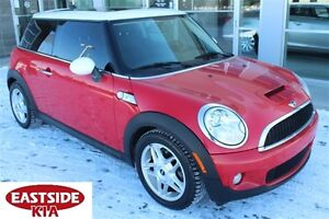2008 MINI COOPER S LEATHER ROOF AND TONS OF ADD ONS