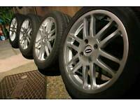 "17""inch Team dynamics wheels 4x114.3 Nissan s13 Honda Mitsubishi Volvo s40 v40"