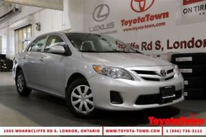 2013 Toyota Corolla SINGLE OWNER CE