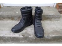 Ladies motorcycle boots two pairs