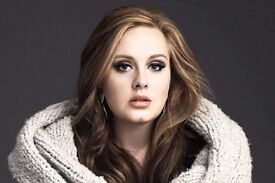 Cheapest Adele tickets 2.07 Wembley, London!