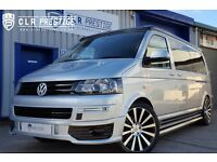 2013 LWB VW TRANSPORTER SPORTLINE T5 T5.1 POP TOP CAMPER VAN 4 BERTH LONG WHEEL BASE