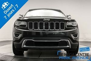 2014 Jeep Grand Cherokee Limited V8 CAMÉRA, CUIR