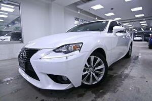 2014 Lexus IS 250 IS 250, LEATHER, POWER SEATS, ONE OWNER, NO AC