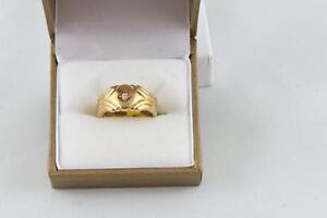 Jonc or avec diamant (u015292)
