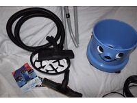 Numatic Blue Dry Charles Hoover, As new. Used once - looks Brand New
